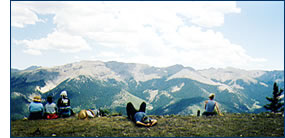 Quiet time in the Rocky Mountains